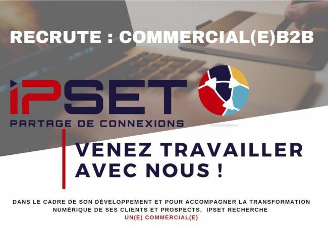 Recrutement Poste commercial(e) part 1